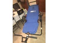 Abdominal workout seat