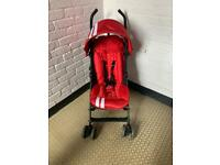 Reduced to clear Easywalker mini cooper red stroller