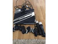 Sony PlayStation 3 Slim 320 GB Charcoal Black Console (CECH-2504B)