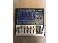 Presonus Studio live 16.0.2 digital audio interface.