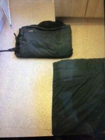 Fishin carp sleeping bag+ extras