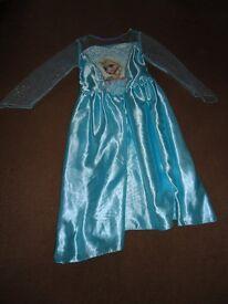 Frozen Elsa Dress. Age 5-6.