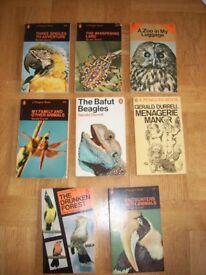 Gerald Durell Collection in slipcase. Illustrations by Ralph Thompson. PLUS 4 James Herriott books