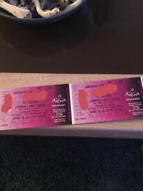 Darts tickets