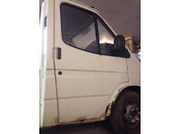 Ford Transit MK 5 Smiley Drivers Door