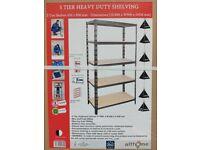 5 Tier Heavy Duty Shelving