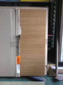 solid oak end panels /work tops