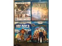 Blu-ray DVDS - Hurt Locker, Australia, Ice Age 3, Night of the Museum 2