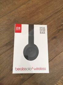 Beats solo3 wireless matte black - Brand new