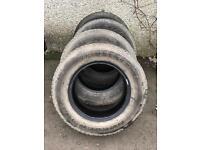4 Bridgestone Dueler H/T Tyres