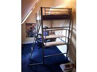 Children's Study High Bed