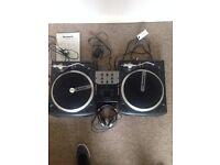 Numark 1625 Battlepack DJ set