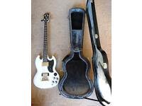 Epiphone EB3 Bass Guitar with hard case