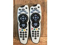 2 Sky remote controls - £5