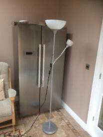 Ikea Silver/chrome Lamp £15