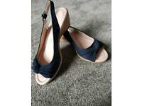 Brand new M&s sandal-navy blue