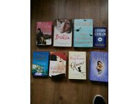 ROMANCE AND FICTION SOFT AND HARD BACK BOOKS
