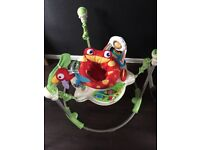 Fisher price rainforest jumperoo great working order lights and music working