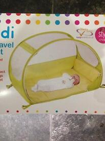 Koo-Di Pop up travel cot new in box