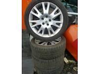"""Laguna alloys 17"""" tyres"""