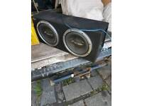 Subs with amp and 6x9's