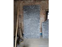 Eight 2.4m x 1.2m x 25mm (one inch) floor grade insulation sheets