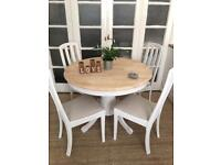SOLID WOOD TABLE and CHAIRS FREE DELIVERY LDN 🇬🇧