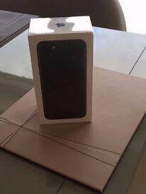 IPHONE 7 PLUS MATT BLACK SEALED IN BOX