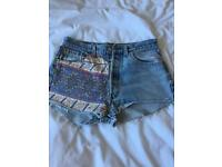 Levi re-made shorts