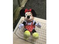 Minnie Mouse plush teddy