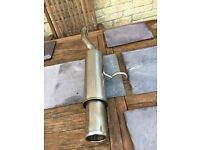 Custom made Longlife Stainless Steel Exhaust Citroen C2 1.1L Petrol