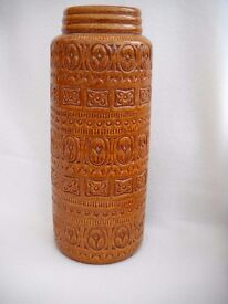 FLOOR STANDING GERMAN VASE