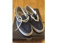 Vans Sneaker Zapato Del Barco Canvas Boat Shoe (Men US:9)