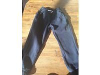 Next boys navy joggers age 6 years