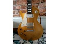 Gibson Les Paul Re-issue R7 Goldtop Left Handed 2010 electric guitar with case, free Gibson t-shirt!