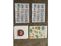4 kids blank birthday cards
