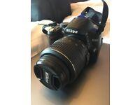 Nikon D3000 10.2MP Digital SLR Camera - Black (Kit w/ DX SWM VR G ∞ - 0.28m)
