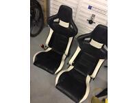 BB bucket seats