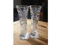Glass bud vase (15 units available at £3 each)