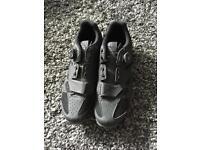 Pair of Giro SPD shoes