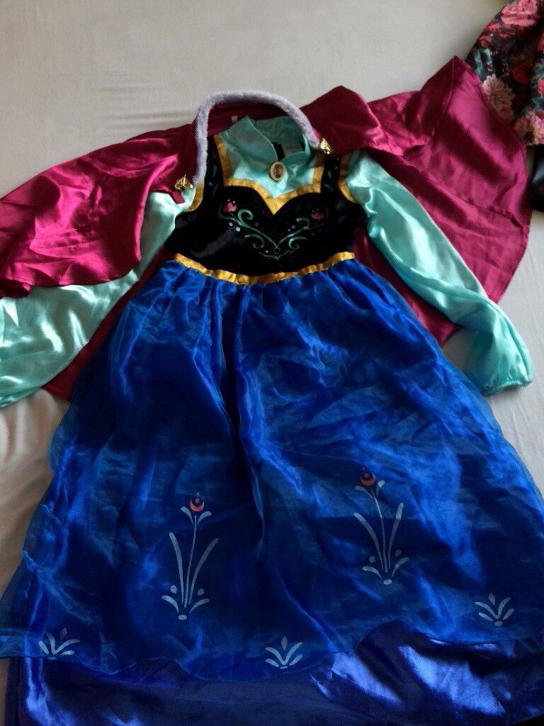 Original Disney Store Frozen Anna Dress age 9-10