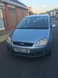 Ford C-max 1.6 petrol, manual, full years MOT