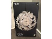 Dahlia ceiling light from Next brand new in box