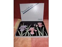 Boxed set 6 x Jason Designer Collection placemats with cork backing