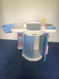 Berchet play baby changing unit/ bedroom