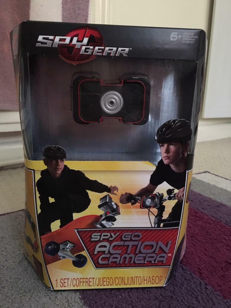 Spinmaster spy gear action camera RRP £39.99
