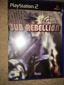 Sub rebellion Playstation 2