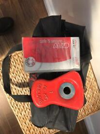 No 1 Alko wheel lock