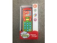 Grow and play baby channel changer remote