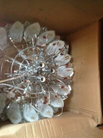Chandelier new light fitting